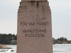 Monument of Liberty, Hanko (Finland)