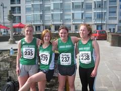 Our ladies team