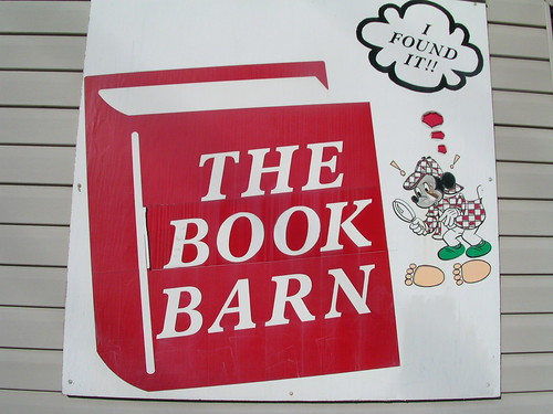 Book Barn Sign