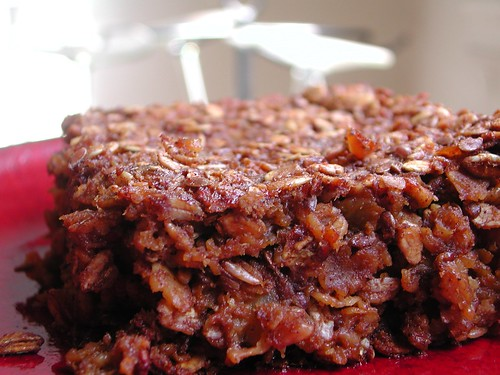 Gingerbread Baked Oatmeal Bars