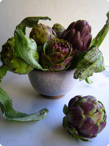 Sicilian Violetta artichokes