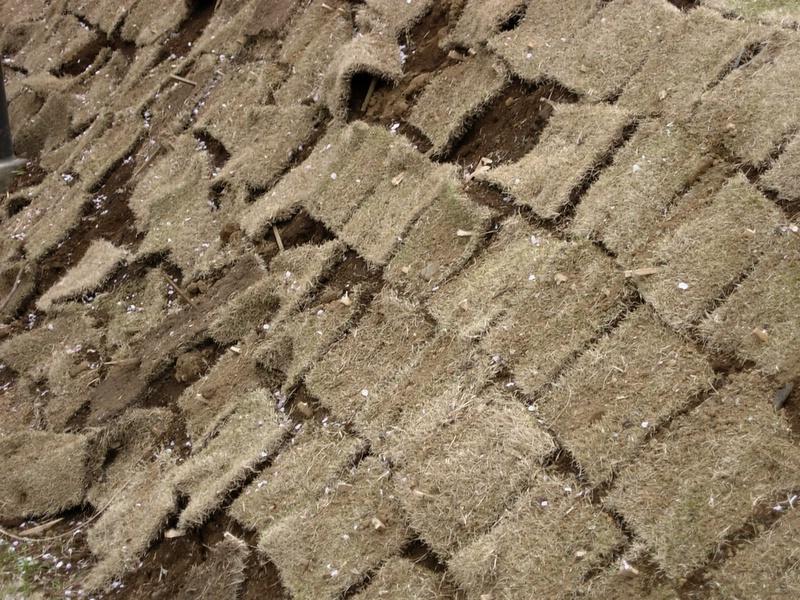 Grass tiles.