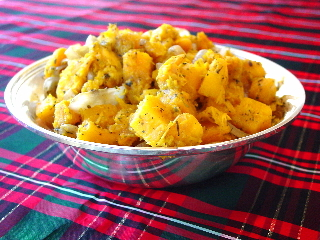 Roast Butternut Squash with Herbes De Provence