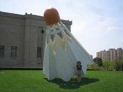 Giant Shuttlecocks