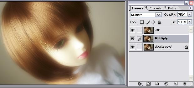 [後製]Photoshop圖層混合模式(2)-柔焦效果