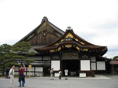 Kyoto - Nijo Castle, jedna vrata