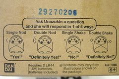 Unazukin instructions...