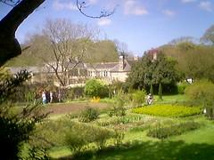 Godolphin House from across the garden