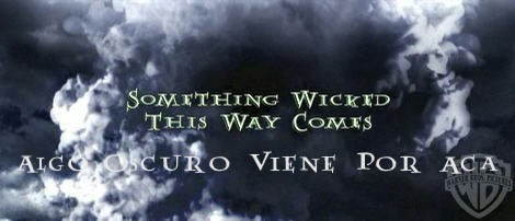 sumthin wicked tis way cumz