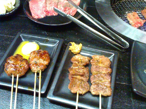 From left: Yaki Tsukune and Yaki Seiniku