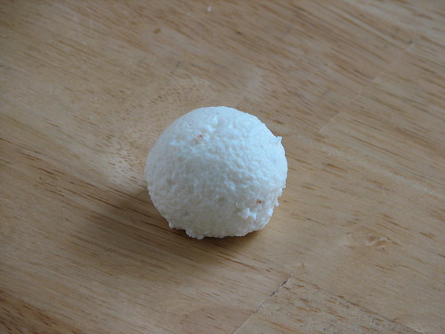 Chenna Ball After Kneading