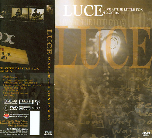 Luce DVD cover