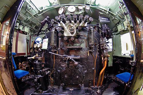 D51 motorman's seat