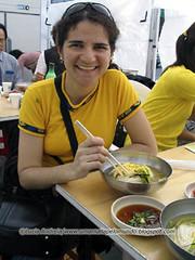 Sopa coreana também vale