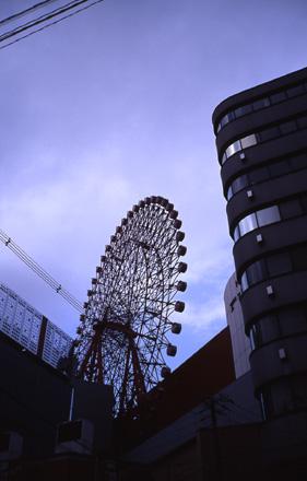 大阪の朝空