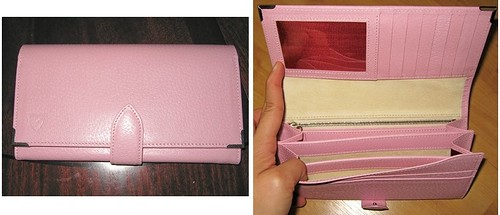 ladies long wallet