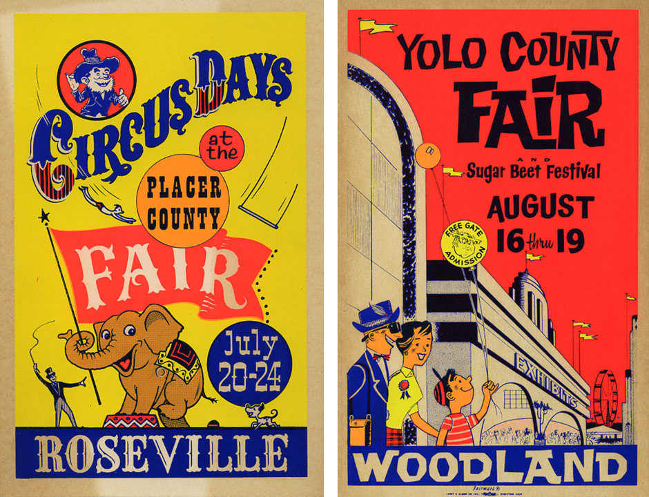 a sampler of things: County Fair Signs