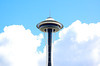 Space Needle in the Clouds