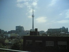 CN Tower As Seen from 215 Spadina