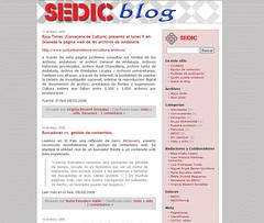 sedic blog