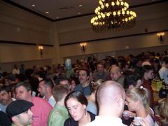Inside the beer festival