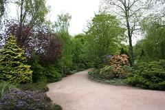 Palace of Holyroodhouse gardens, Edinburgh
