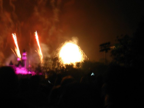 fireworks at Disney, or Shock and Awe?