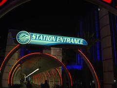 Monorail Entrance - Ballys