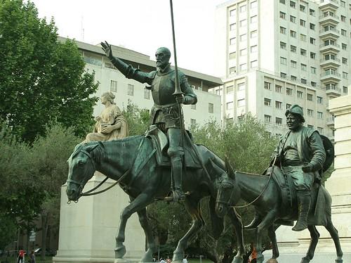 Don Quichote und Sancho Pansa