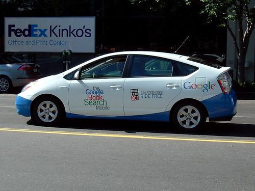 Das Google Taxi