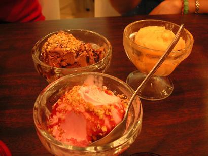 Variety of Ice Cream