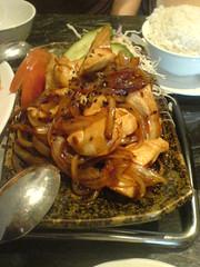 Teriyaki Chicken at Izzi, Edinburgh