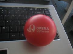 Opera stress ball
