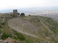 Teatret på Pergamons akropol