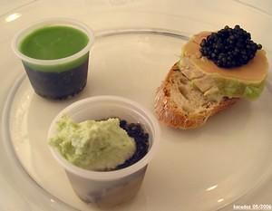 Variation autour du caviar d Aquitaine