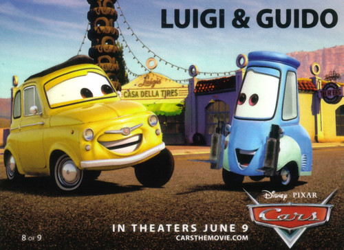 Luigi and Guido - Cars by PIXAR