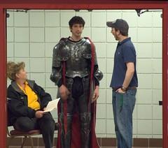 An Unlikely Knight Scene