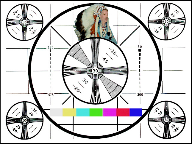 Labay's Place DON's Indian Head Test Pattern Classy Test Pattern