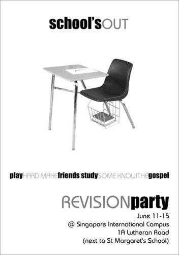Revision Party Flyer