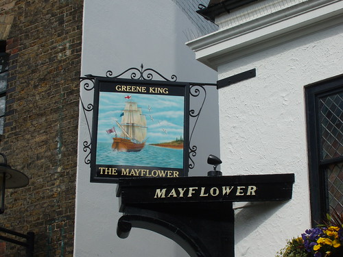 Mayflower Pub Sign