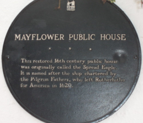 Mayflower Plaque