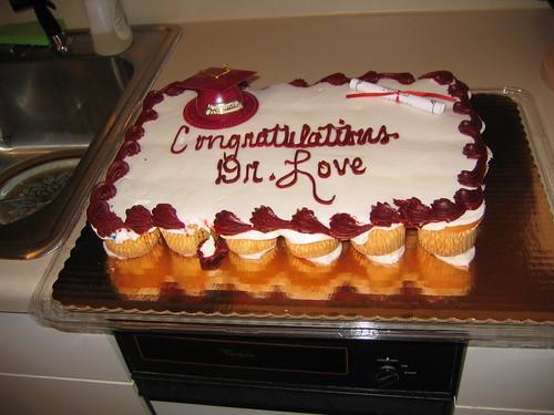 Cupcake PhD Celebration
