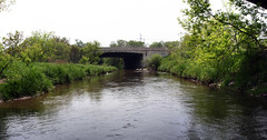 401 bridge over Bowmanville Creek