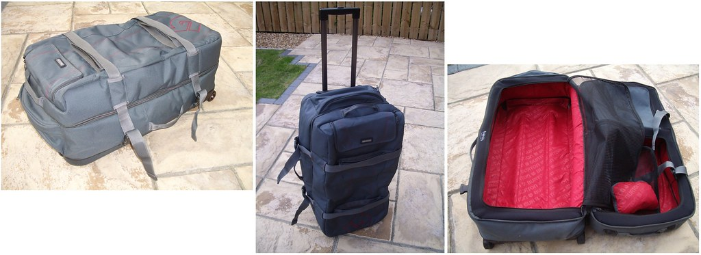 Burton Wheelie Double Deck Travel Bag Review