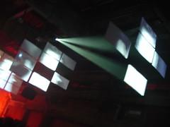 Impressions: Mutek festival at night (Montréal 2006)