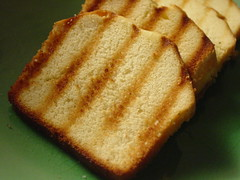 Pound Cake Grilled