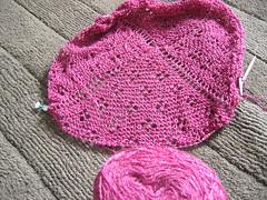 IK Paisley lace shawl