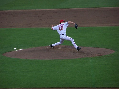 O'Connor pitching