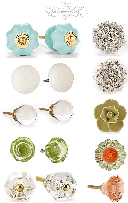 Anthropologie: Knobs + Handles