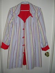 coat with two sets of loops